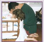 Praying with Caroline